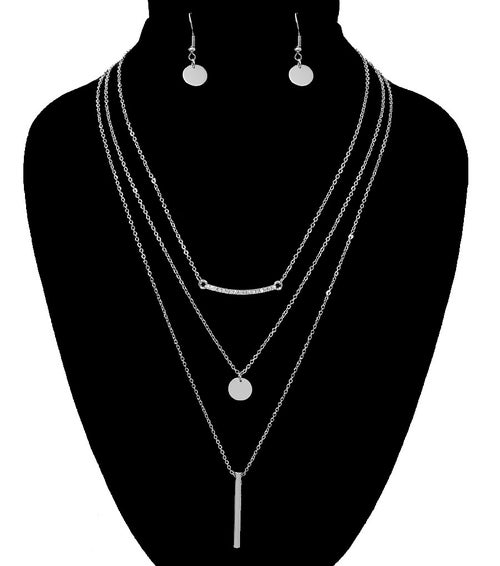 Image of Trio Layered Necklace Set