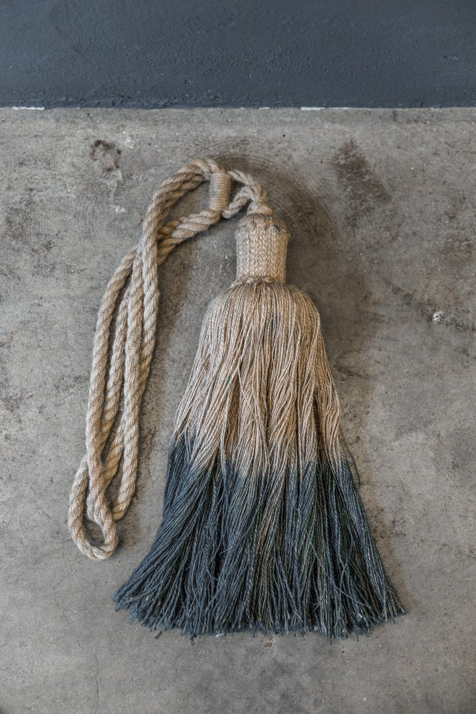 Image of Curtain tassel - burlap
