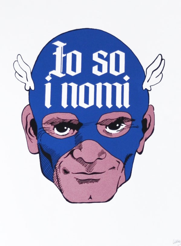 "Image of omino71 ""Io so i nomi"""