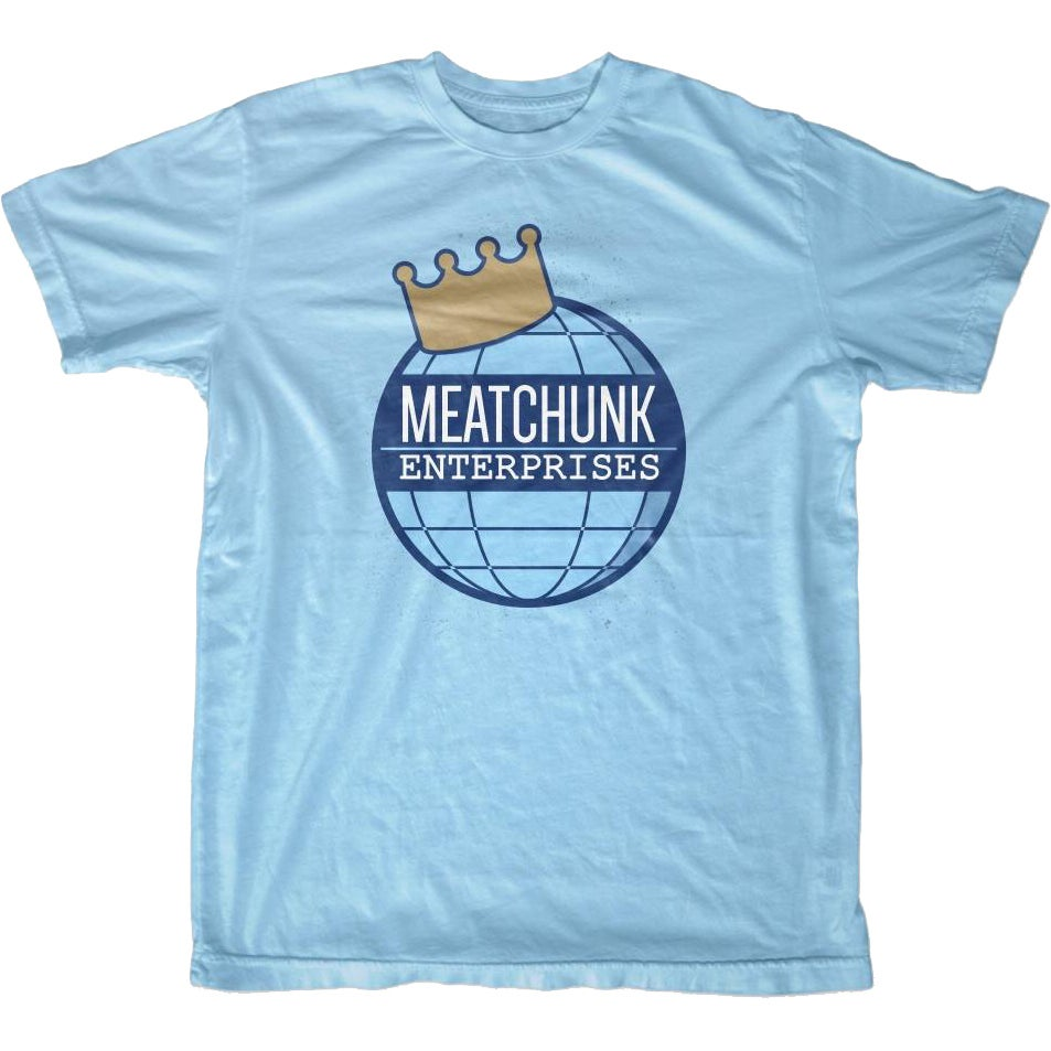 Image of MEATCHUNK CROWN LOGO T-SHART