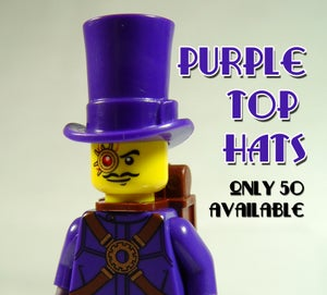 Image of Purple Top Hats