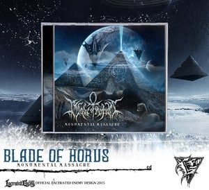Image of BLADE OF HORUS - Monumental Massacre CD