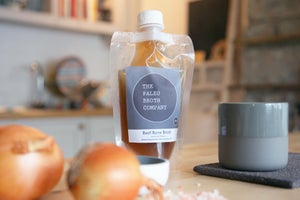 Image of Beef Bone Broth - A Month's Supply Special 6x 1lr Pouches *Free Shipping*