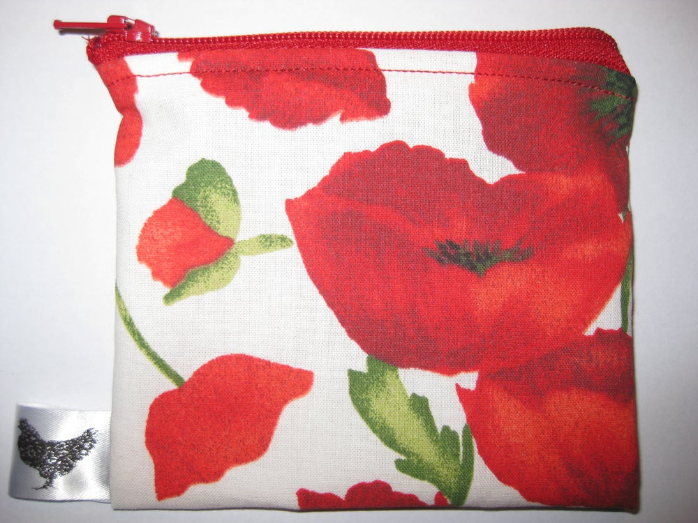 Image of Poppies (new small pouch)