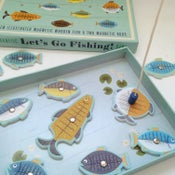 Image of Magnetic Let's Go Fishing Game