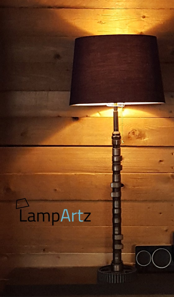 Image of Volvo 960 cam desk table lamp - lampe bureau table