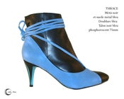 Image of THRACE Noir Bleu - Black Blue