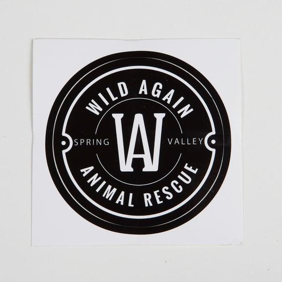 Image of Wild Again Sticker - Black