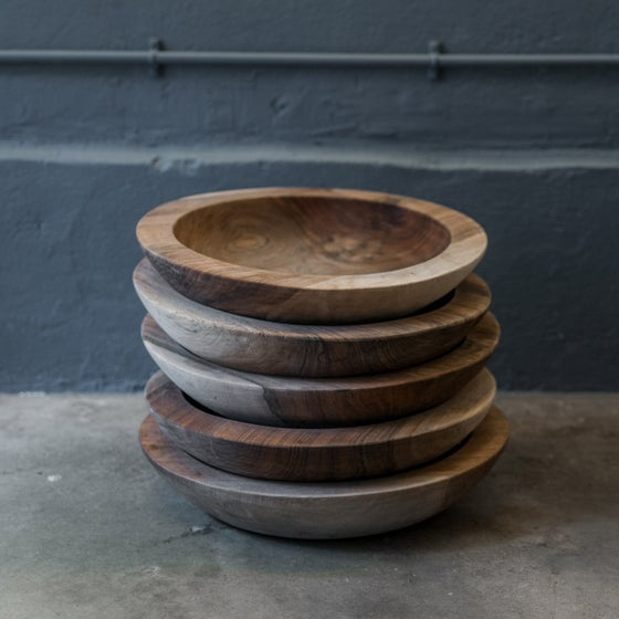 Image of Wooden Breadbowl