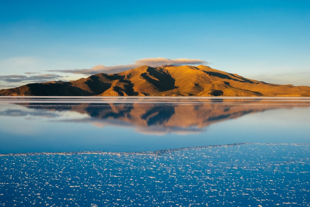 Image of Salar de Uyuni at Sunrise