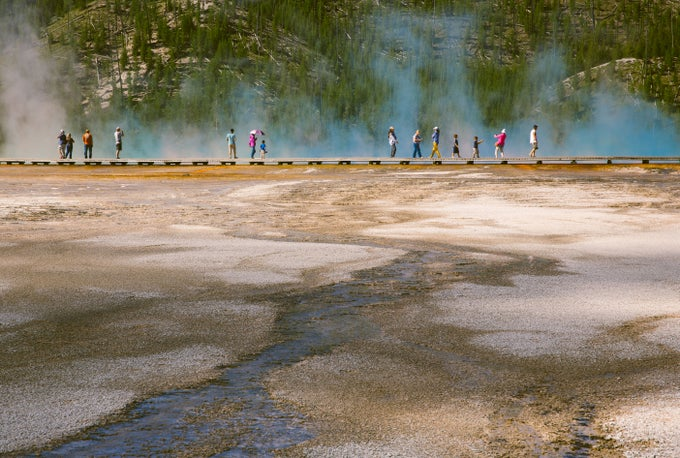 Image of Grand Prismatic Spring