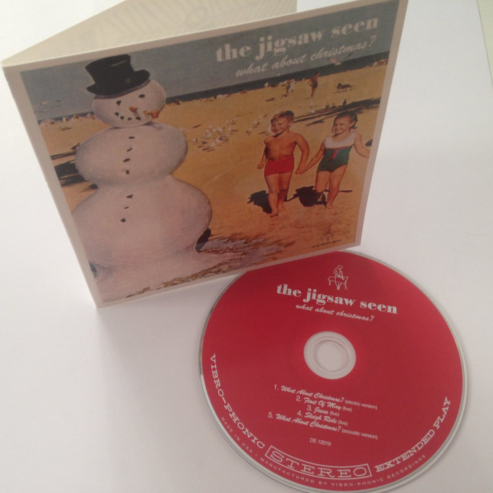 "Image of ""What About Christmas?"" CD"