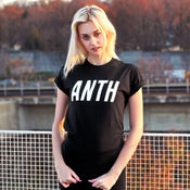 "Image of ""ANTH"" Tee (Black) w/ FREE Anth Wristband"