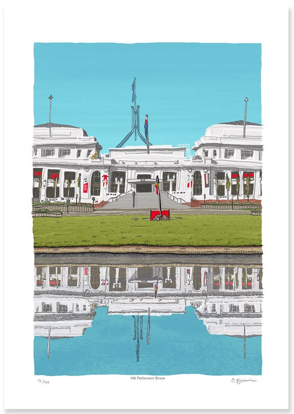 Image of Old Parliament House, Digital Print
