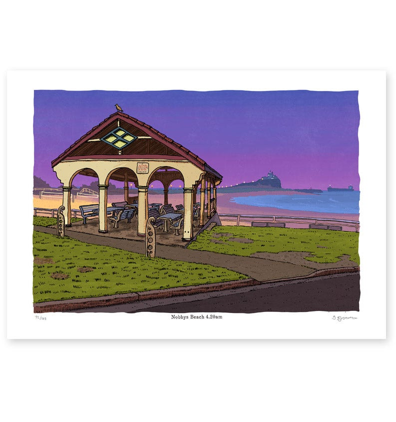 Image of Nobbys Beach, 4.20am