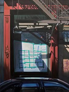 Image of Howard St Reflection
