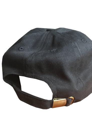 Image of SAMPLER HAT - BLACK