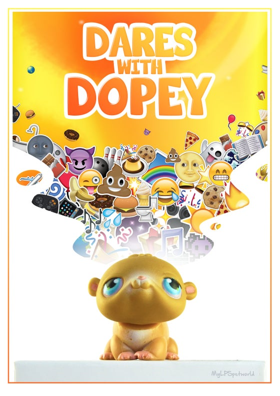 Image of Dares With Dopey POSTER!