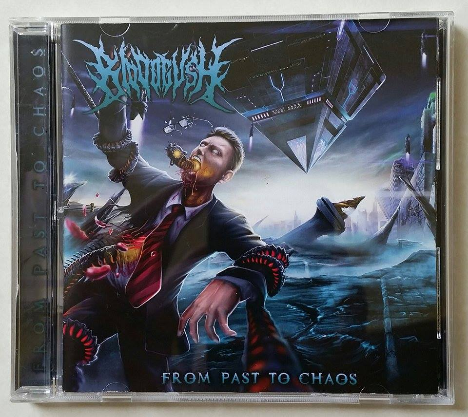 Image of BLOODGUSH - FROM PAST TO CHAOS CD
