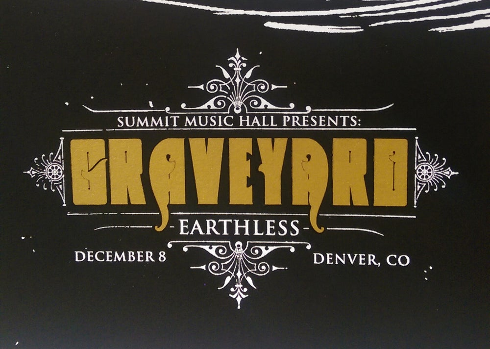Image of Graveyard - December 8, 2015 / Denver, CO