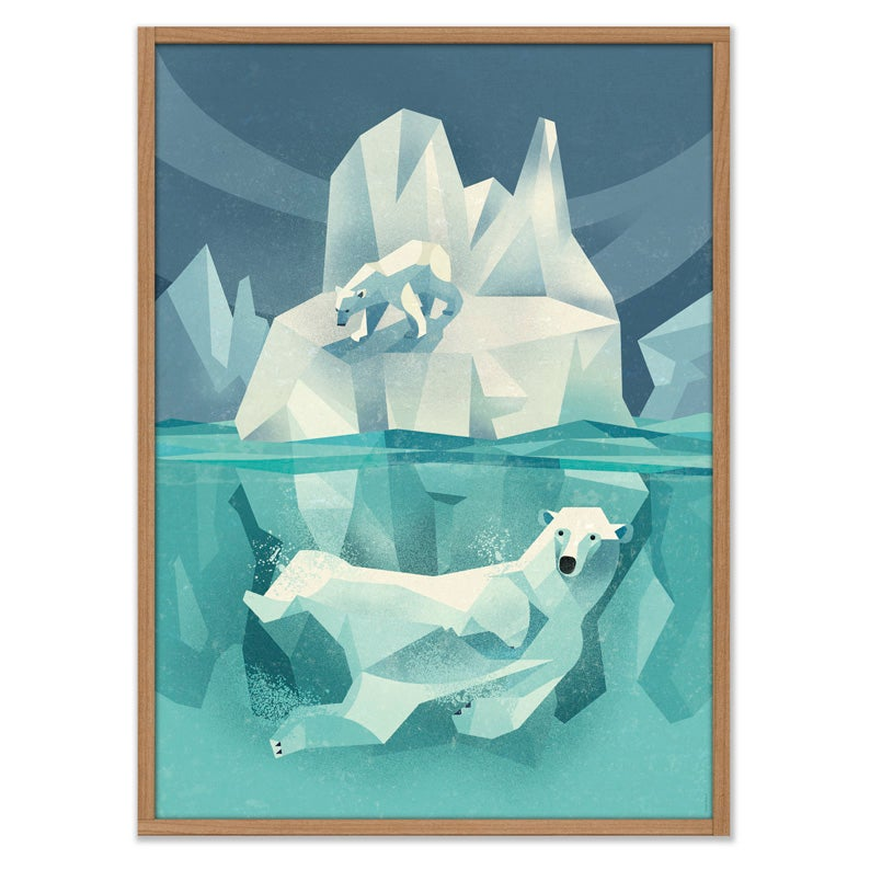 Image of Swimming Polar Bear