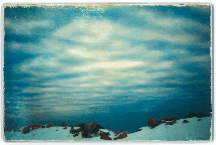 Image of Jess Repose's Slow Photography: Winter Sky