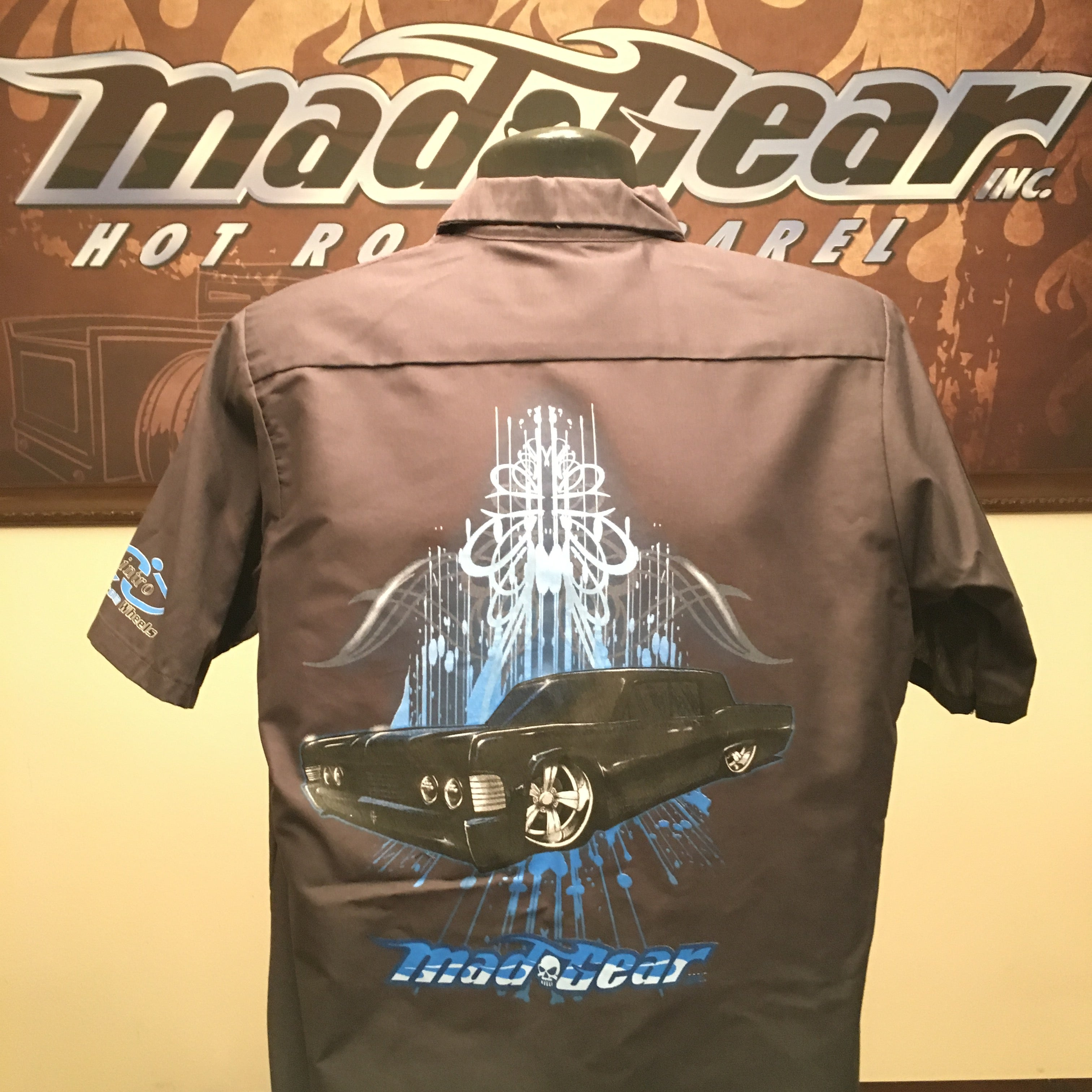 Mad Gear Hot Rod Apparel Work Shirts Lincoln