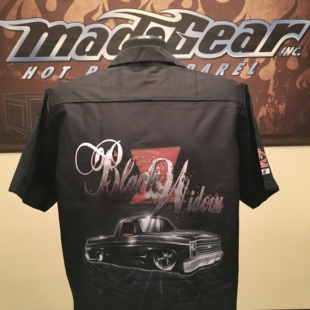 "Image of Work Shirt - ""Black Widow"""