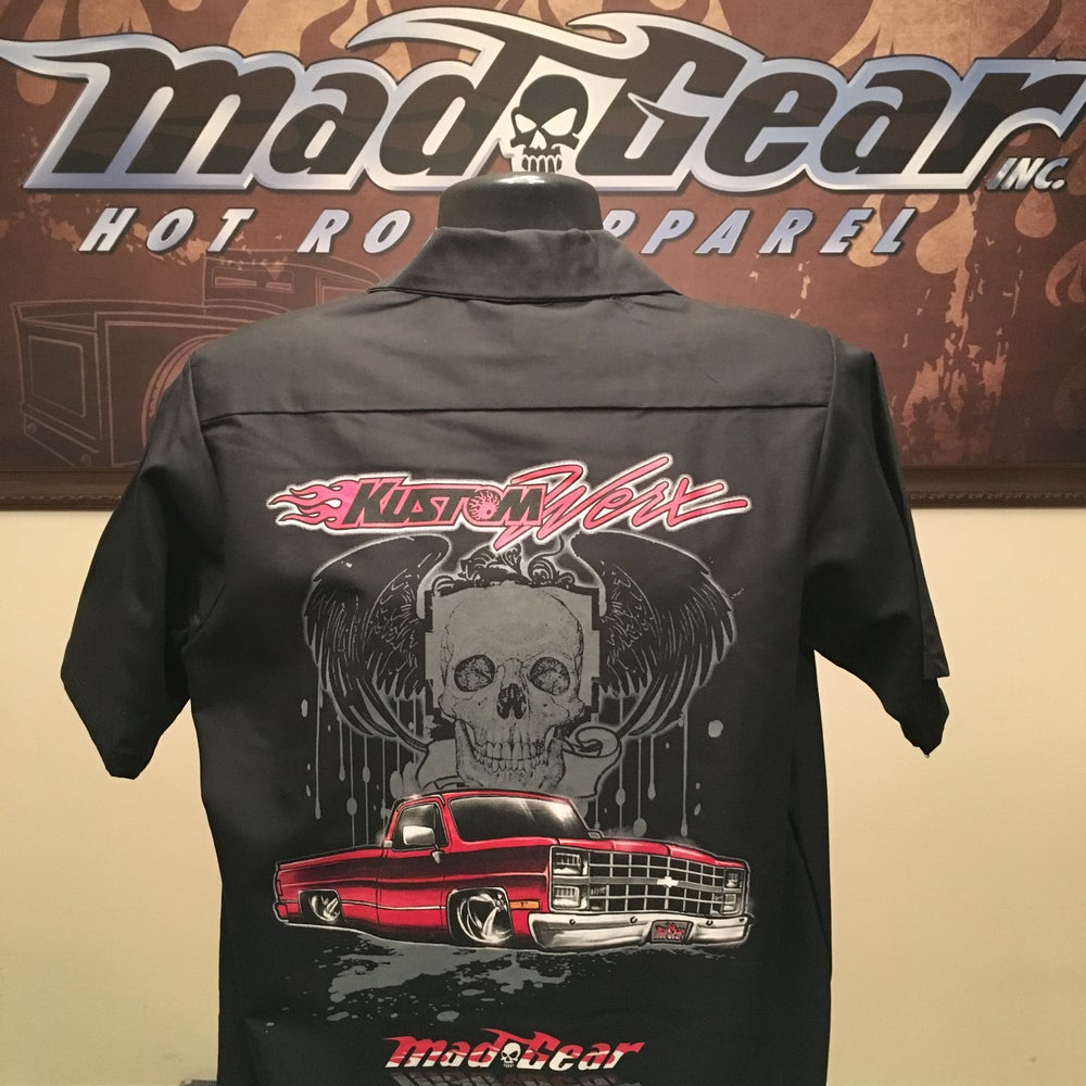 "Image of Work Shirts -""Kustom Werx"""