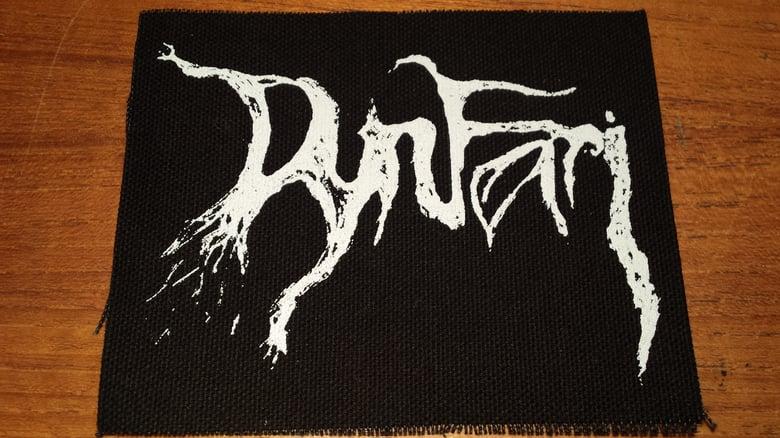 Image of Dynfari logo patch (10x12.7cm)