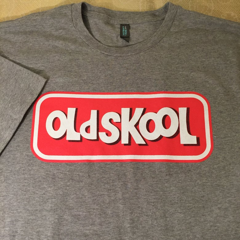 "Image of Spinbad vs. Ghetto Dog ""OLDSKOOL"" Tee"