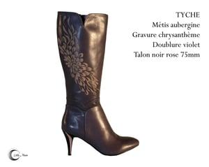 Image of TYCHE Aubergine - Dark Purple
