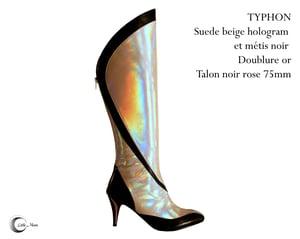 Image of TYPHON Beige Hologram/Noir  - Beige Hologram/Black