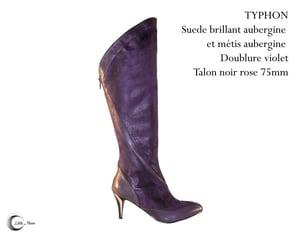 Image of TYPHON Aubergine - Dark Purple