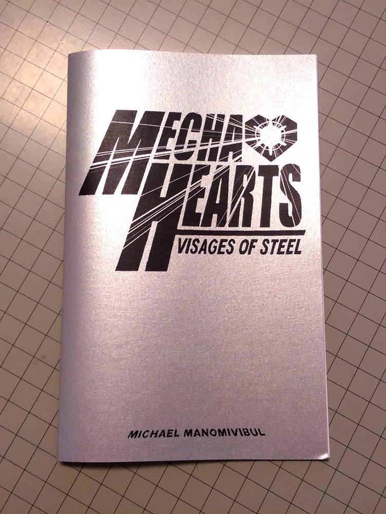 Image of Mecha Hearts: Visages of Steel A themed Inktober Zine