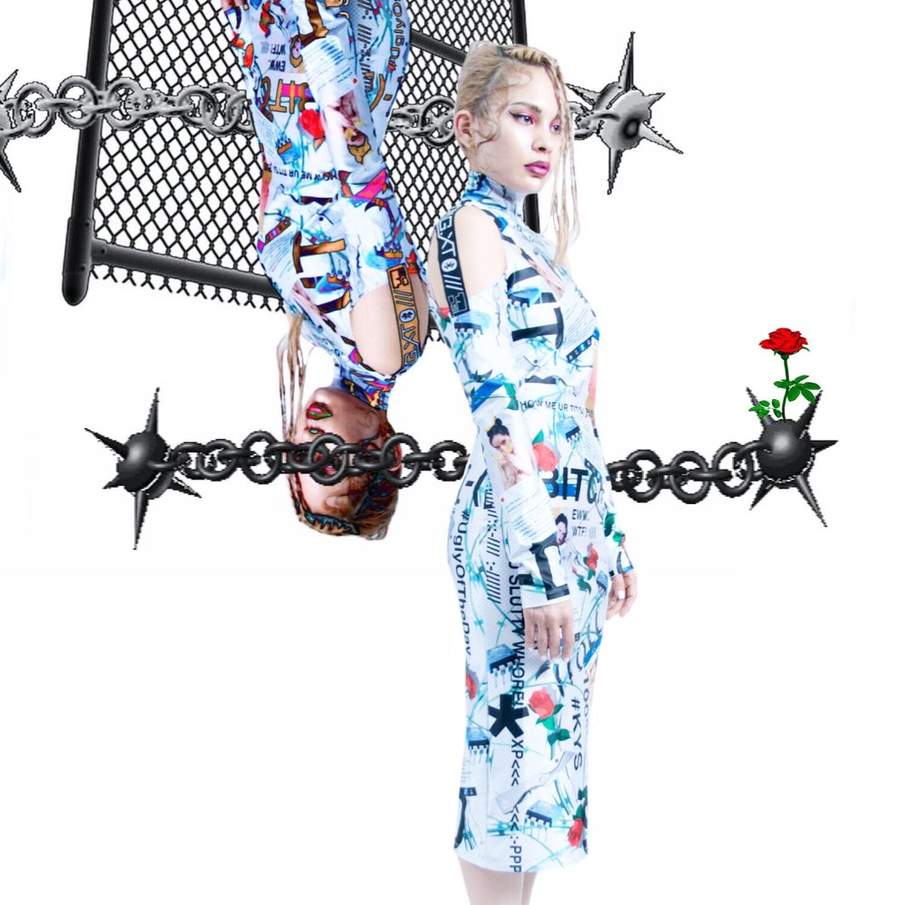Image of DVMVGE KY$' 182 Full-Print Dress