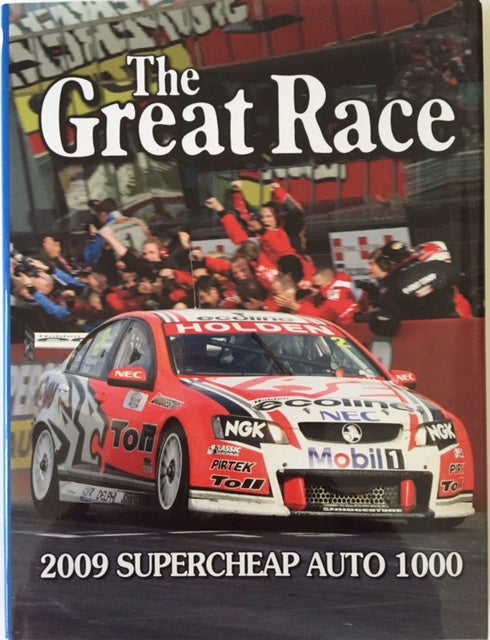 Image of The Great Race 29. Bathurst 1000 2009. Tander and Davison win for HRT