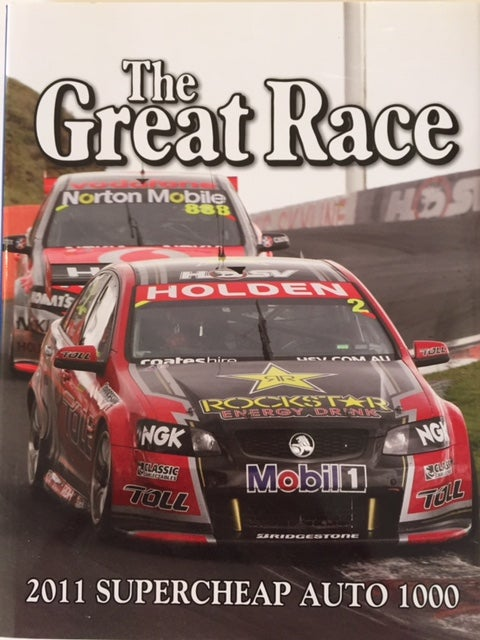 Image of The Great Race book 31. Bathurst 1000 2011. HRT Last book of series.
