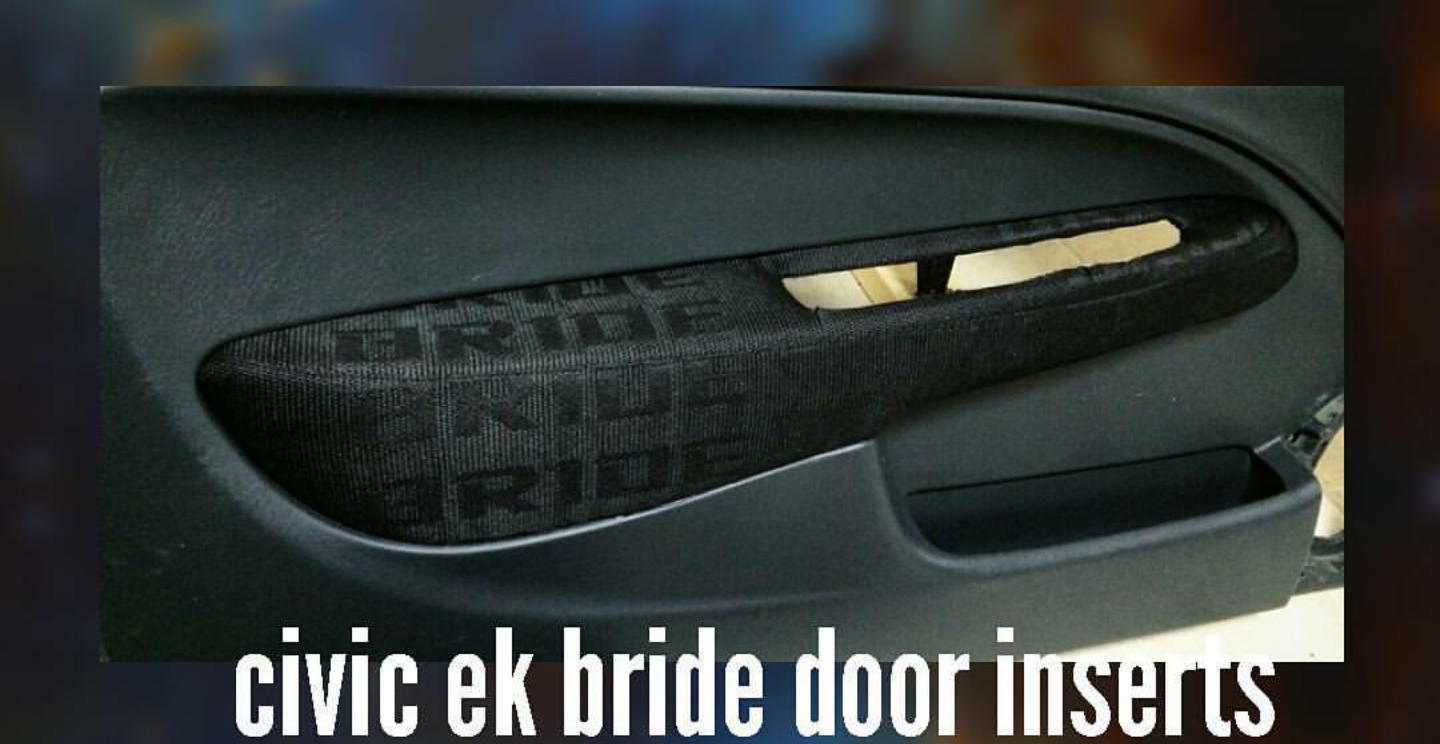 Image of Civic ek bride door inserts & Civic ek bride door inserts | MDINTERIORS AUTO UPHOLSTERY