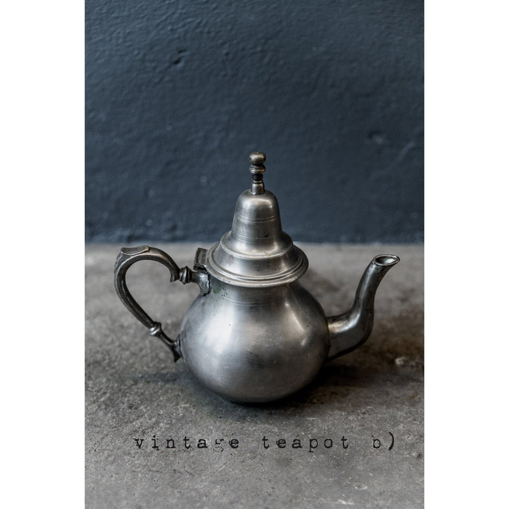 Image of Moroccan Vintage Teapot