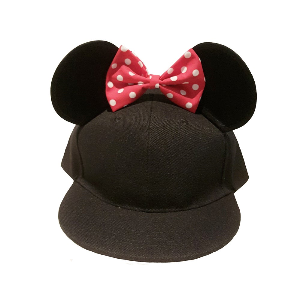Image of Minnie Mouse Ears Snapback by MODU
