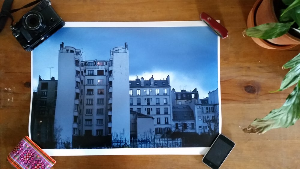 Image of Paris - A2 print