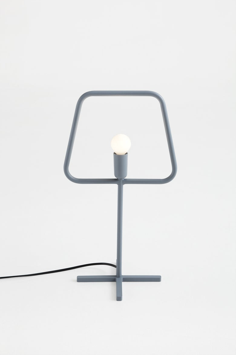 Image of Slim S Grey Table Lamp