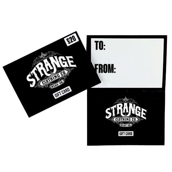 Image of Strange Gift Card