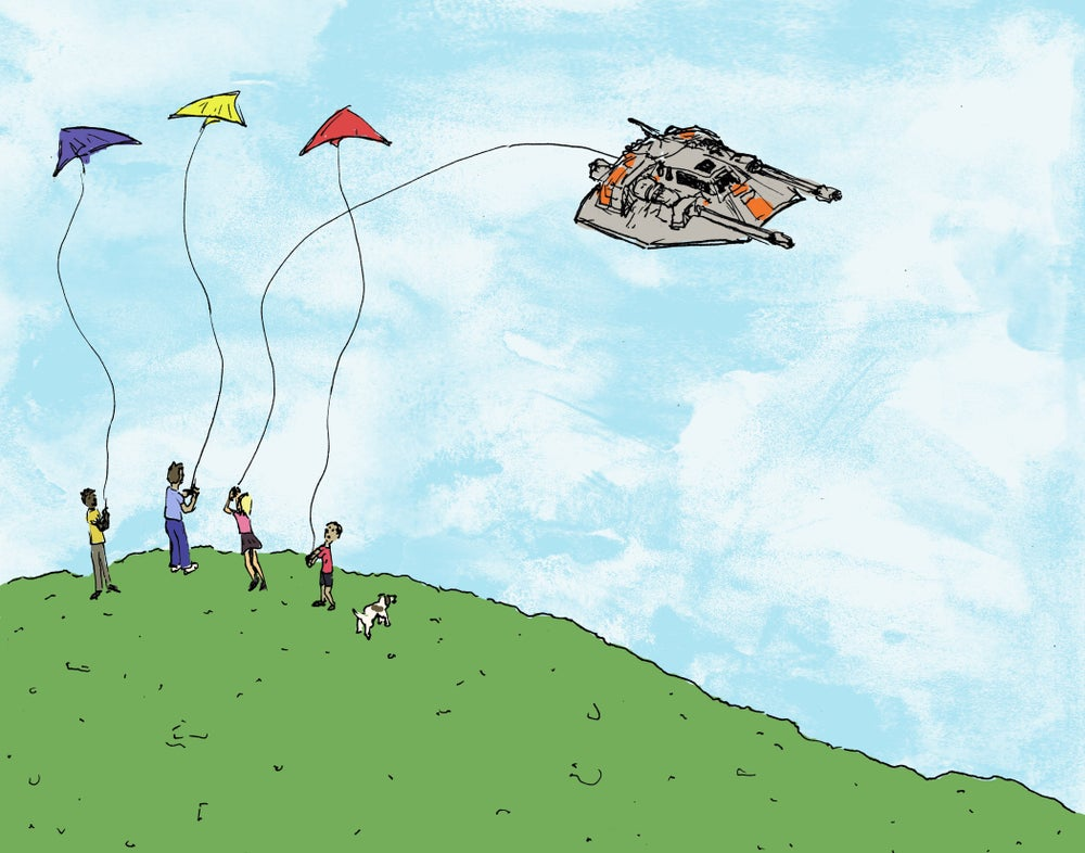 "Image of ""Kites in Tow"""