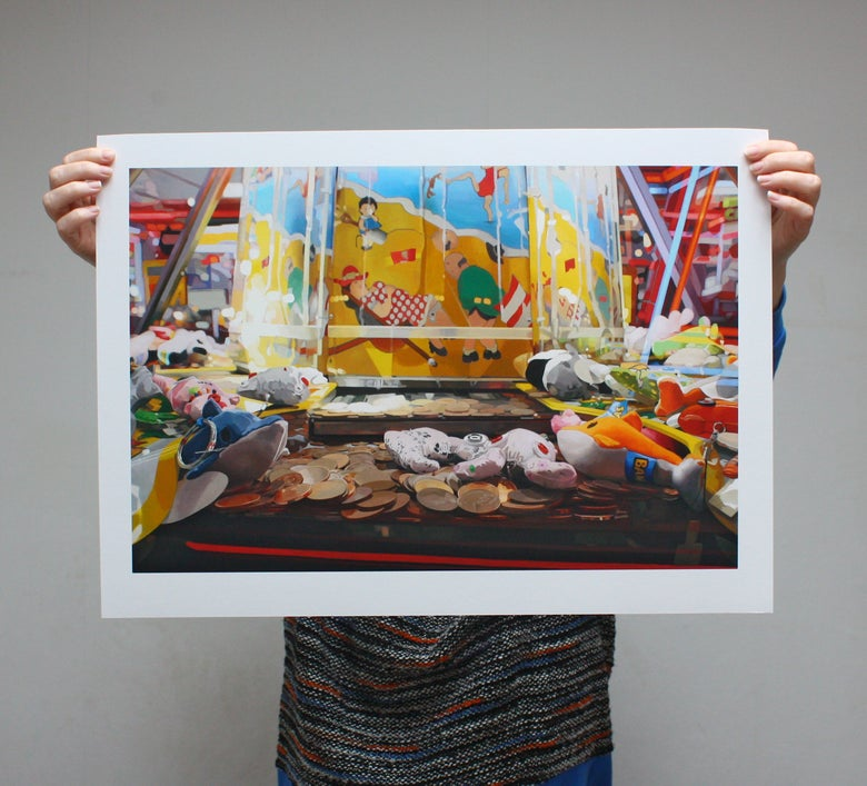 Image of '2p Pusher' - Limited Edition Print - 61cm x 43.5cm