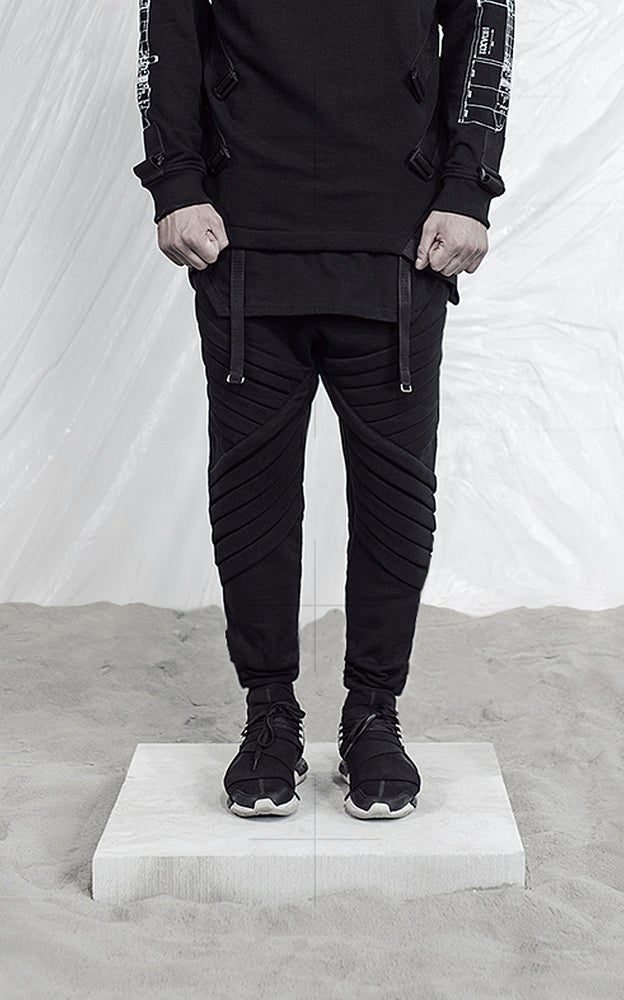 Image of Urban Flavours HOAX11 Surveyor 2 blk Pants