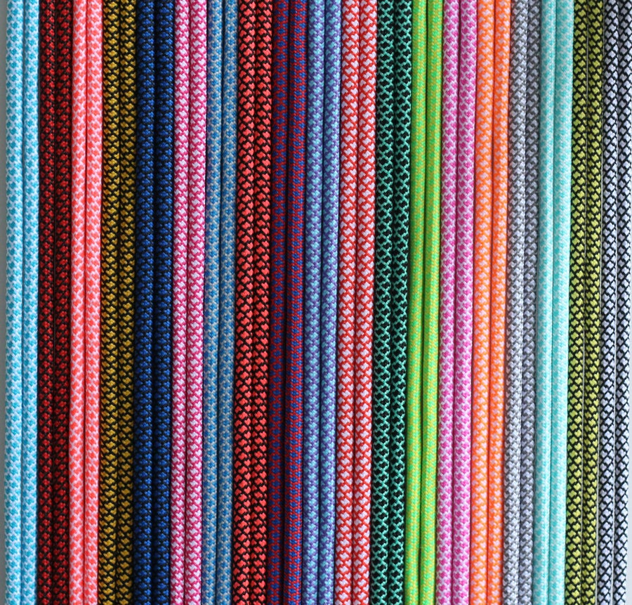 Image of Zweifarbige runde Schnürsenkel /two colored Ropelaces