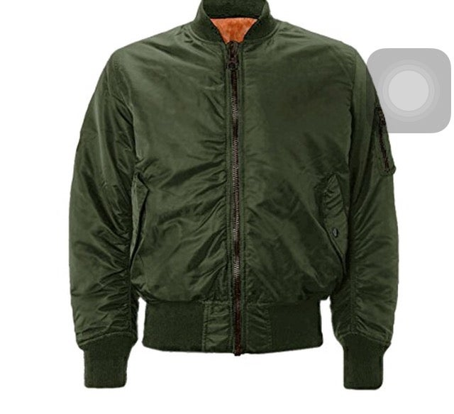 Image of BOMBER JACKET // OLIVE