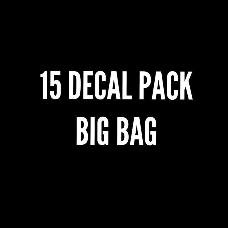 Image of BIG PACK 15 DECALS